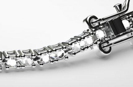 Naszyjnik srebrny: projekt własny