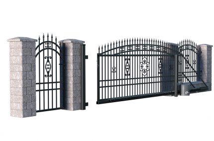 Brama i ogrodzenie, Klient:POLARGOS
