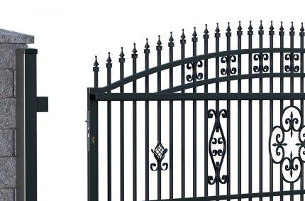 Brama i ogrodzenie, Klient: POLARGOS