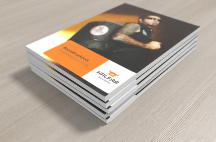 Katalog produktowy, Klient: HALFAR