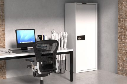 Wizualizacja biuro, Klient:KONSMETAL