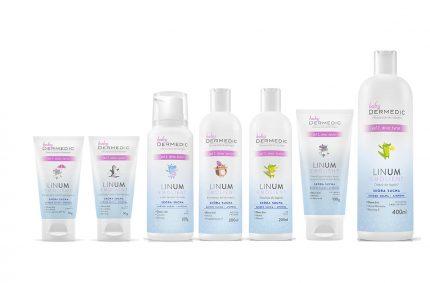 Seria kosmetyków Linum Baby, Klient: DERMEDIC