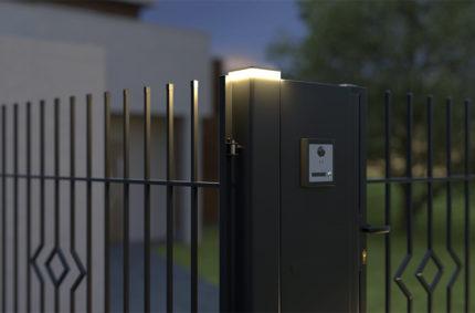 Sygnalizacja otwierania bramy, Klient: POLARGOS